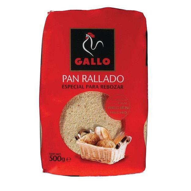 PAN RALLADO 500g GALLO