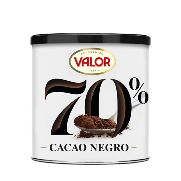 CACAO NEGRO SOLUBLE 70% 300g VALOR