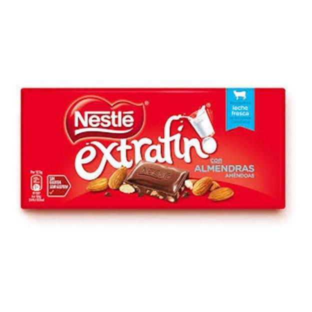 TABLETAS CHOCOLATE NESTLE EXTRAFINO
