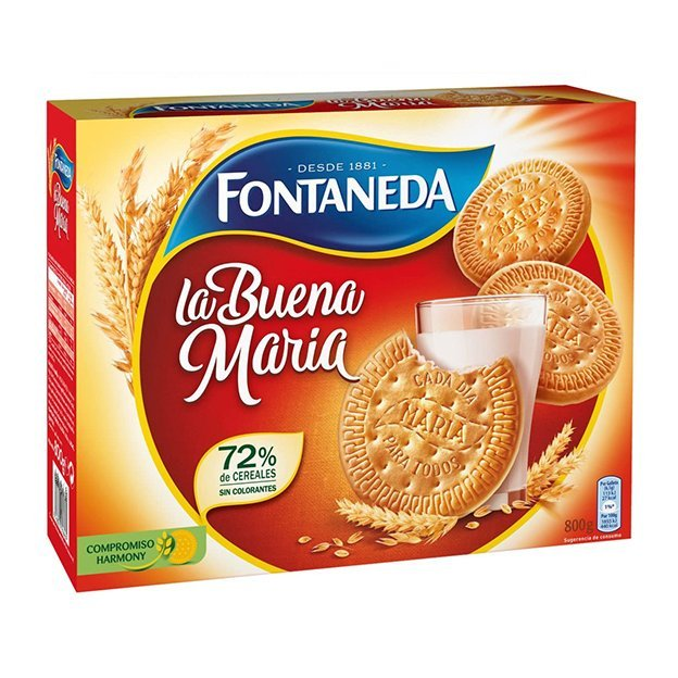 GALLETAS LA BUENA MARÍA FONTANEDA 800g