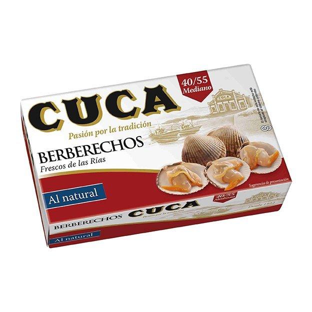 BERBERECHOS 40/55 PIEZAS AL NATURAL CUCA