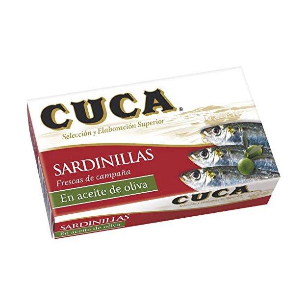SARDINILLAS EN ACEITE OLIVA CUCA